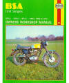 BSA 250–500 Singles Repair Manual, 1958–1972