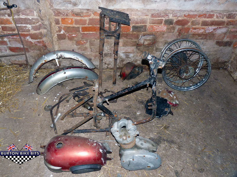 Triumph Tiger Cub Restoration Project